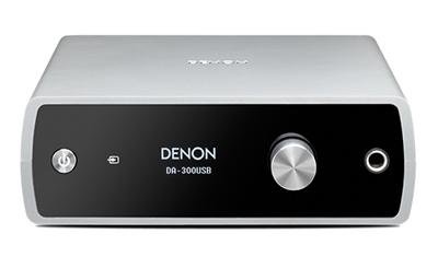 DENON USB-DACヘッドホンアンプ[ハイレゾ対応] DA300USB/Silver [DA300USBS]