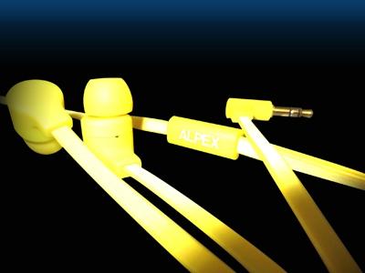 ALPEX リフレクターイヤフォン AHP-111 Yellow [AHP-111YE]