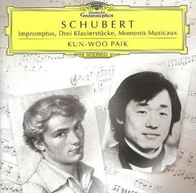 クン・ウー・パイク/Schubert: Impromptus, Drei Klavierstucke, Moments Musicaux[DG40071]