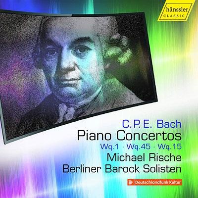 ミヒャエル・リシェ/C.P.E. Bach: Piano Concertos Vol.5 - Wq.1, Wq.45, Wq.15[HC17034]
