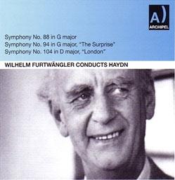 ヴィルヘルム・フルトヴェングラー/W.Furtwangler Conducts Haydn - Symphonies No.88, No.94