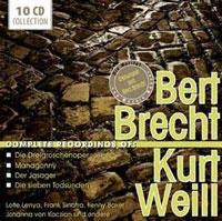 Complete Recordings of Bert Brecht & Kurt Weill CD