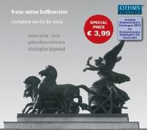 アシャン・ピライ/Franz Anton Hoffmeister: Complete Works for Viola[OC071]