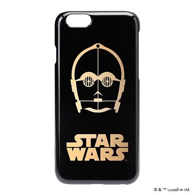 STARWARS iPhone 6用 ハードケース 金箔押し C-3PO [PG-DCS924C3]