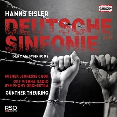 ギュンター・トイリング/アイスラー: ドイツ交響曲 Op.50[C5428]