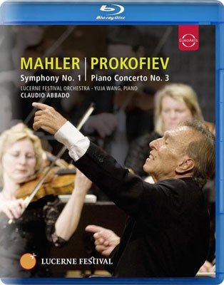 "Mahler: Symphony No.1 ""Titan""; Prokofiev: Piano Concerto No.3 Op.26 Blu-ray Disc"