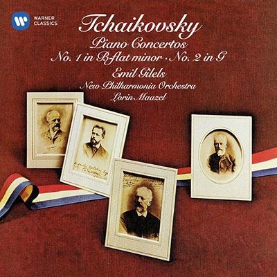 エミール・ギレリス/Tchaikovsky: Piano Concertos No.1 &No.2[9029573884]