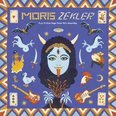 Moris Zekler: Fuzz &Soul Sega From 70's Mauritius[AD6014C]