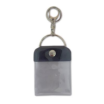 タワレコ 缶バッジキーホルダー57mm用 Black[MD01-5820]