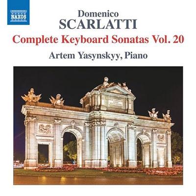 アルテム・ヤスシンスキイー/Domenico Scarlatti: Complete Keyboard Sonatas Vol.20[8573604]