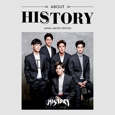 History (Korea)/ABOUT HISTORY [CD+PHOTOBOOK]<通常盤>[TSHY-5002]