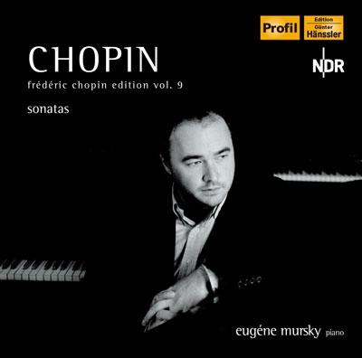 エフゲニー・ムルスキー/Chopin Edition Vol.9 - Piano Sonatas No.1-No.3[PH04074]