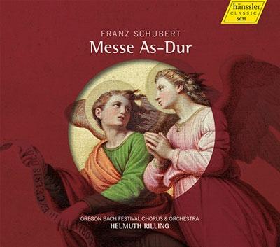 ヘルムート・リリング/Schubert: Messe As-Dur D.678[98033]