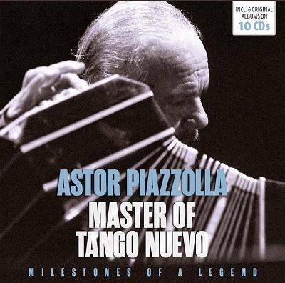 Astor Piazzolla/アストル・ピアソラ 名演奏集[600584]