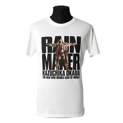 オカダ・カズチカ/新日本プロレス オカダ・カズチカ 「KORM」 T-shirt/Sサイズ [053106-M]