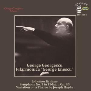 ジョルジュ・ジョルジェスク/ブラームス: 交響曲第3番, ハイドンの主題による変奏曲 Op.56a[ERT-1024]