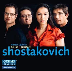 デリアン・クァルテット/Delian::Quartet plays Shostakovich [OC451]
