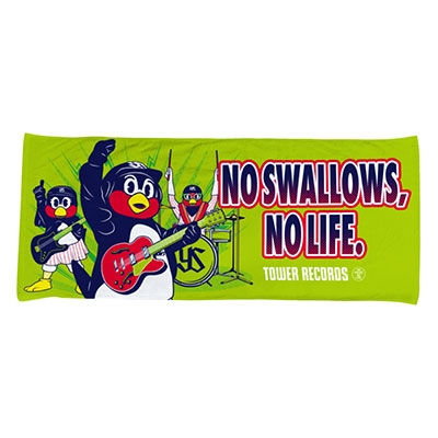 東京ヤクルトスワローズ/NO SWALLOWS, NO LIFE. 2020 ハイブリッドフェイスタオル(バンド)[4582568019947]