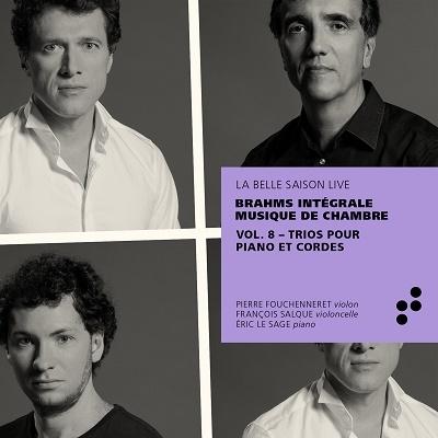 ブラームス: 室内楽作品全集第8集 - ピアノ三重奏曲全集