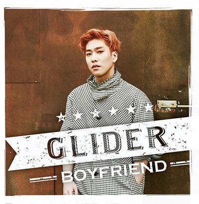 BOYFRIEND/GLIDER メンバー別ジャケット盤(ヒョンソン)[TSBD-5006]