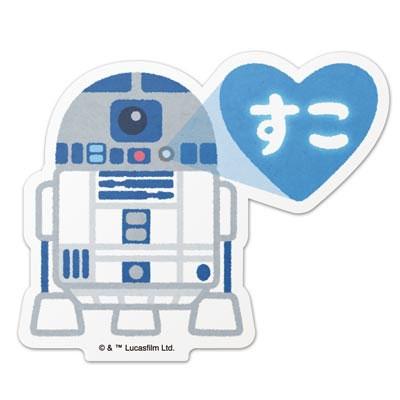 STAR WARS ダイカットステッカー illustration by みふねたかし 10/R2-D2 Accessories