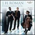イェド・ヴェンツ/J.H.Roman: Roman: 12 Sonatas for Flute and Continuo[BRL95214]