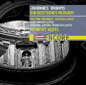 ヘルベルト・ケーゲル/Brahms: Ein Deutsches Requiem [C8014]