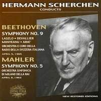 ヘルマン・シェルヘン/Beethoven: Symphony No 9; Mahler: Symphony No 5 [LS1034]