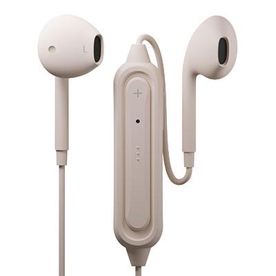 PGA Bluetoothイヤホン Ver5.0 インナーイヤー/Beige[PG-BTE12IE5BE]