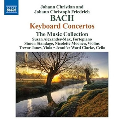 The Music Collection/J.C.F.Bach: Keyboard Concerto YC.91; J.C.Bach: Keyboard Concerto Op.13 No.2 C63, etc (3/6-8/2007) / The Music Collection[8570474]