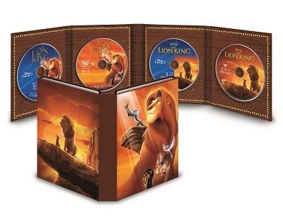 ライオン・キング MovieNEXコレクション [2Blu-ray Disc+2DVD]<期間限定版> Blu-ray Disc