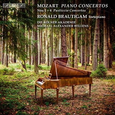 ロナルド・ブラウティハム/Mozart: Piano Concertos No.1-No.4 [BISSA2094]