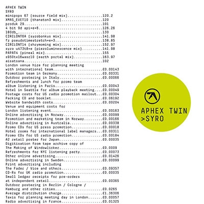 Aphex Twin/Syro<期間生産限定盤>[BRC-444]