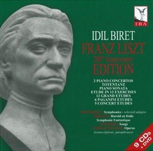 イディル・ビレット/Franz Liszt: 200th Anniversary Edition [9CD+DVD(PAL)][8509004]