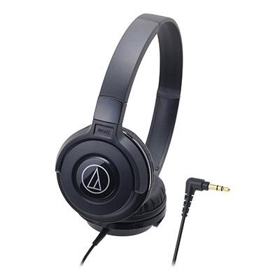 audio-technica ポータブルヘッドホン ATH-S100 Black