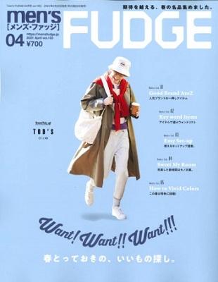 men's FUDGE 2021年4月号[18625-04]