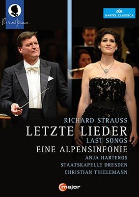 R.Strauss: Last Songs, Eine Alpensinfonie; W.Rihm: Ernster Gesang (Serious Song) DVD