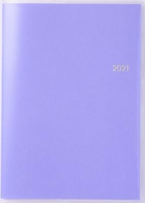 2021年 4月始まり No.924 ミアクレール(R)4 月曜始まり [ライトパンジー] 高橋書店 B6判[9784471809249]