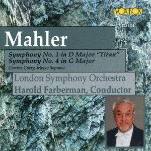 Mahler: Symphonies no 1 & 4 / Farberman, London Symphony
