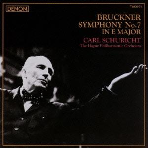 カール・シューリヒト/ブルックナー:交響曲 第7番 ホ長調<タワーレコード限定>[TWCO-71]