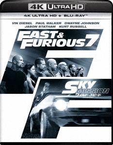 ヴィン・ディーゼル/ワイルド・スピード SKY MISSION [4K ULTRA HD + Blu-rayセット][GNXF-1449]