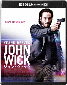 チャド・スタエルスキ/ジョン・ウィック 4K ULTRA HD+本編Blu-ray<2枚組> [PCZP-57001]