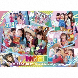 MIRAGE☆BEST ~Complete mirage2 Songs~ [CD+DVD]<初回生産限定盤> CD