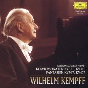 ヴィルヘルム・ケンプ/モーツァルト:ピアノ・ソナタ第11番<トルコ行進曲付き>/第8番/幻想曲K397/K475<限定盤>[POCG-90108]