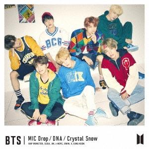 MIC Drop/DNA/Crystal Snow (C) [CD+フォトブックレット]<初回限定盤> 12cmCD Single