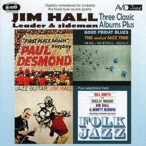 Jim Hall/ジム・ホール|スリー・クラシック・アルバムズ・プラス [AMSC-1033J]