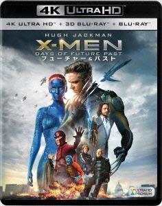 ブライアン・シンガー/X-MEN:フューチャー&パスト <4K ULTRA HD + 3D + 2Dブルーレイ/3枚組>[FXHA-58301]