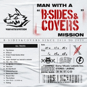 "MAN WITH A ""B-SIDES&COVERS"" MISSION CD"