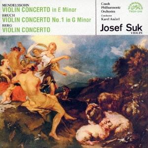 ヨゼフ・スーク (Violin/Conductor)/メンデルスゾーン:ヴァイオリン協奏曲 ブルッフ:ヴァイオリン協奏曲第1番 ベルク:ヴァイオリン協奏曲<タワーレコード限定>[TWSA-1046]