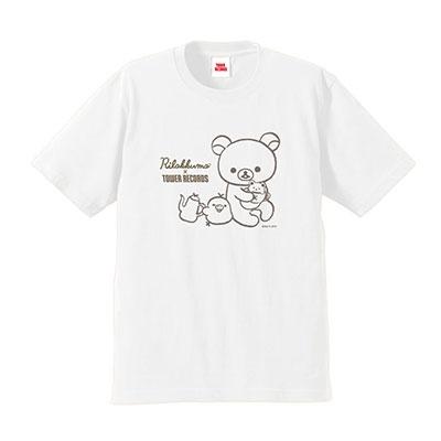 Rilakkuma × TOWER RECORDS コラボT-shirts 2019 ホワイト Sサイズ Apparel
